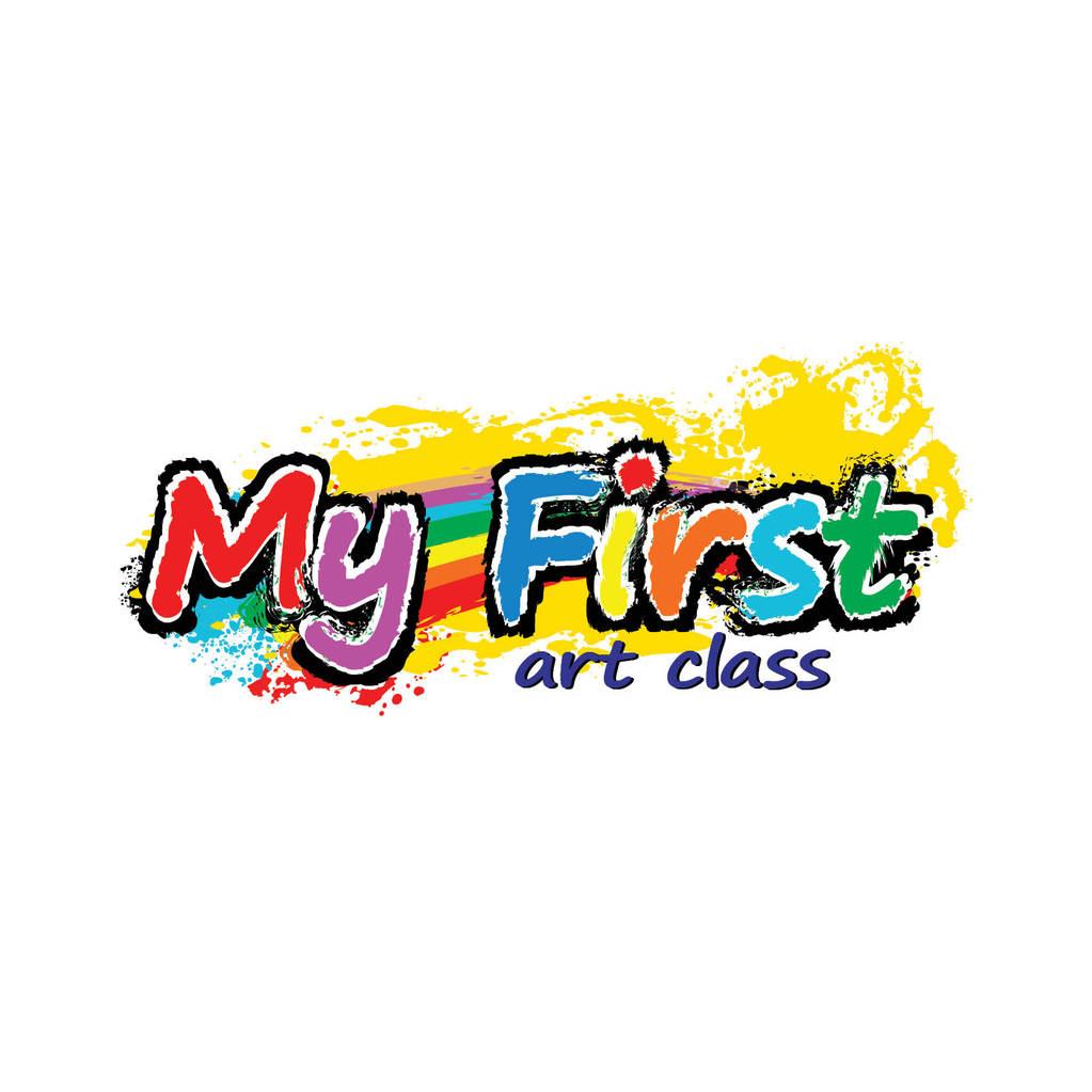 Unique Logo Design My First Art Class